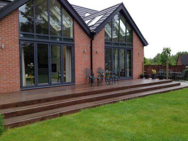 , Cottage Style Borders & Cascading Pool